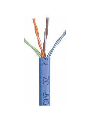 Belden 1585A Multi-Conductor Category 5e Nonbonded 4-Pair Cable - 24 AWG (by the foot) -  Blue