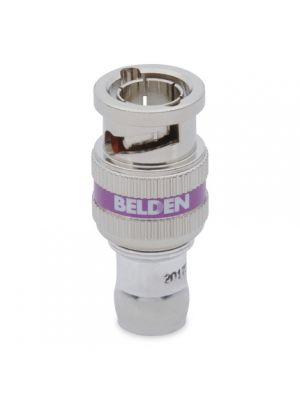 Belden 4855RBUHD1 B50 12 GHz, Mini RG-59, UHD, BNC, 1 piece connector (50 Pack)