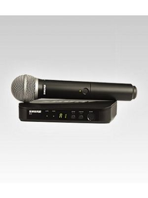 Shure BLX24/PG58 Wireless Vocal System with PG58 Handheld Microphone