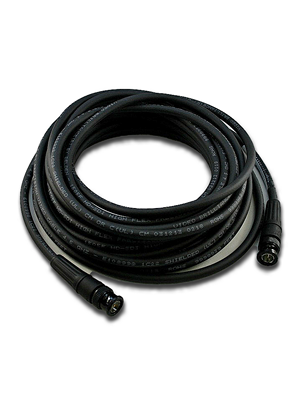 NoShorts 1694ABNC25BLK HD-SDI BNC Cable (25 FT - Black)