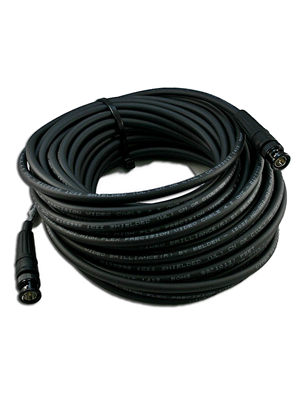 NoShorts 1694FBNC50BLK HD-SDI Flexible BNC Cable (50 FT - Black)