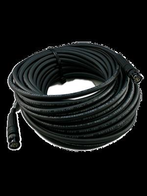 NoShorts 1694ABNC50BLK HD-SDI BNC Cable (50 FT - Black)
