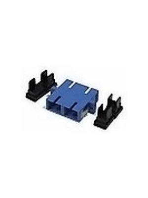 Tri-Net Technology 890-DSC-DSC-S Duplex SC to SC Single Mode Bulkhead Coupler