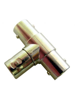 Calrad 75-541 T Style Adapter w/ 3 Female BNC Connectors