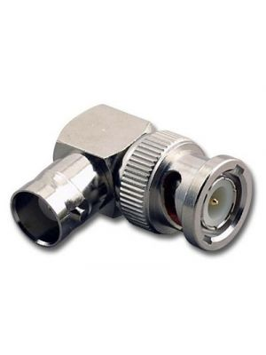 Calrad 75-561 BNC Male to BNC Right Angle Female 50 Ohm Adapter