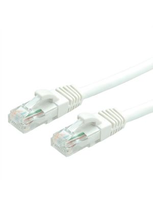 PacPro Cat6a UTP White Patch Cord (25 FT)