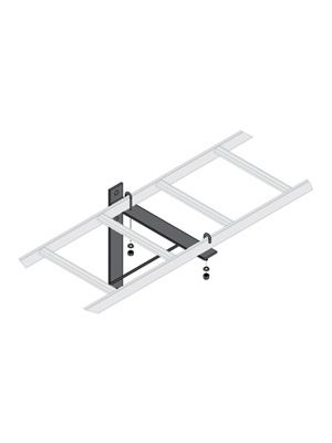 Middle Atlantic CLBTSB Triangle Wall Support Bracket