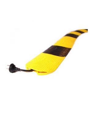 Cable Armour CPS-NSCR-2 Snake Cable Cover Drop Over Large Cable Protector (Yellow/Black)