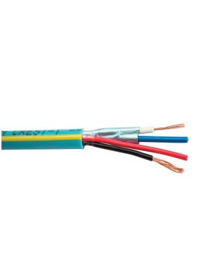 SCP Crest-1 2-Conductor 22AWG Data & 2-Conductor 18AWG Power Crestron Control Cable (1000 FT Roll)