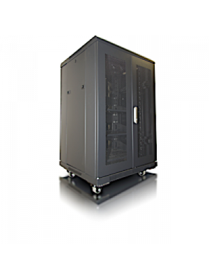 Crimson AV RC18U Floor Standing Data Rack Enclosure (19