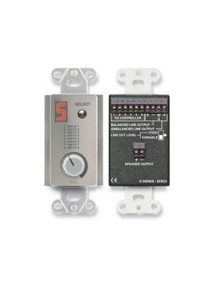 Radio Design Labs DS-SFRC8 Room Control Station for SourceFlex Distributed Audio System