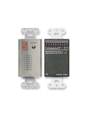 Radio Design Labs DS-SFRC8L Audio Selector for SourceFlex Distributed Audio System