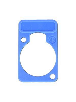 Neutrik DSS-BL D-Series Blue Lettering Plate