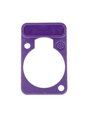Neutrik DSS-VI D-Series Violet Lettering Plate