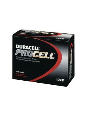 Duracell PC1300 Procell D Batteries (12 Pack)