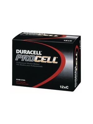 Duracell PC1400 Procell C Batteries (12 Pack)