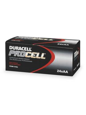Duracell PC1500 Procell AA Batteries (24 Pack)