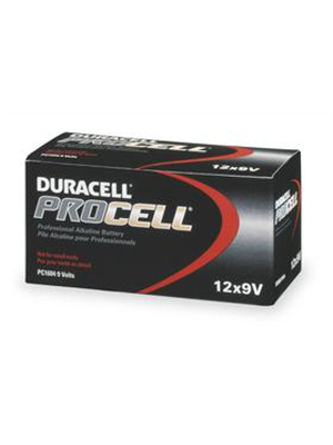Duracell PC1604 Procell 9V Batteries (12 Pack)