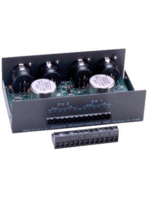Jensen PI-2XX Dual Channel Professional Line Level Isolation Transformer