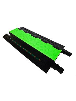 Firefly Satellite Series FCP-332 3-Channel Heavy Duty LED Illuminated Cable Protector