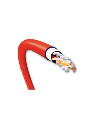 General Cable 7133854 GenSPEED 10 MTP Unshielded Cat6A Cable 23AWG - Red (1000 FT Roll)