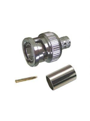 Gigatronix BN15-1505-C06-Z UHD 12G 75-Ohm BNC for Belden 1505A, 1505F & 4505R