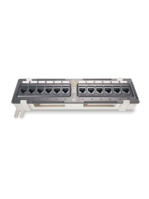 JDI Technologies GX3300 Cat 6 12 Port Vertical Mount Patch Panel