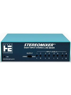 Henry Engineering STEREOMIXER 8-Input Stereo Mixer