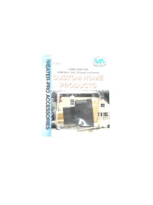 Philmore 45-7047 DVI-D Single Link Female to HDMI Male Adapter