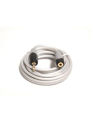 Philmore 71-1906 MediaStar 3.5mm Stereo Mini Male to Female Stereo Mini Jack Cable - 12 Feet