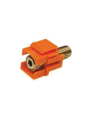 Tri-Net Technology 071D-BANA-RD Banana Plug Snap-in Module (Red)