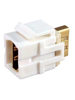 Tri-Net Technology 071D-HDMI-WH HDMI Snap-in Module (White)