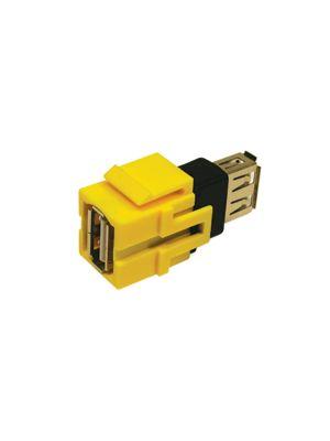 Tri-Net Technology 071D-USBA-BK USB Type-A Snap-in Module (Black)