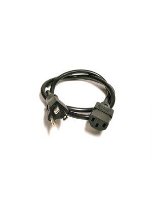 Belden 17041A   EIA/IEC Power Supply Cord  (16/3) - 2 Feet