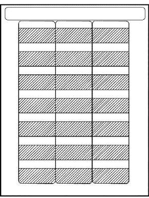 HellermannTyton TAG52L-Sheet Laser Tag Self-Laminating Label (Sheet of 21)