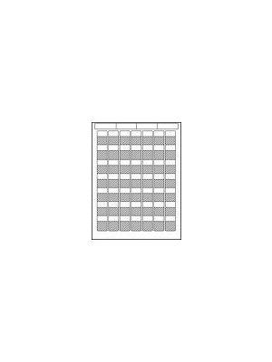 HellermannTyton TAG63L-Sheet Laser Tag Self-Laminating Label (Sheet of 56)