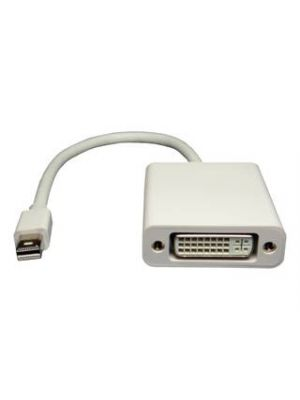 Pan Pacific AD-DSPNM-DVIF Mini Displayport Male to Female DVI Adapter