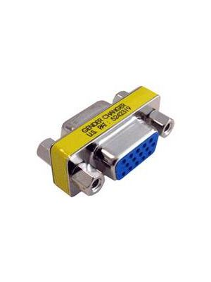 Pan Pacific AD-LGC-H15FF High Density 15 Pin D-Sub Coupler  Female to Female