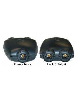 Calrad 35-442 Fiber Optic Toslink Splitter