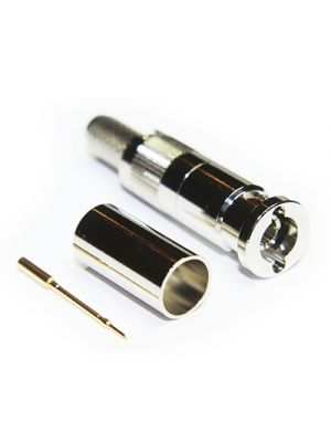 Coax Connectors Ltd 67-005-B66-EF1 75 Ohm 12GHz Micro BNC Straight Crimp / Crimp Connector for 1855A