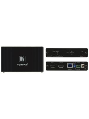 Kramer VS-21DT 2x1 4K60 4:2:0 HDCP 2.2 HDMI Auto Switcher over HDBaseT