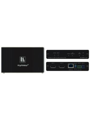 Kramer VS-21DTP 2x1 4K60 4:2:0 HDCP 2.2 HDMI Auto Switcher with Bidirectional PoE over HDBaseT