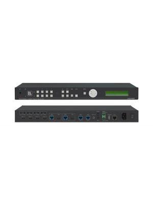 Kramer VS-44DT 4x4 4K60 4:2:0 HDMI/HDBaseT Extended–Reach PoE Matrix Switcher