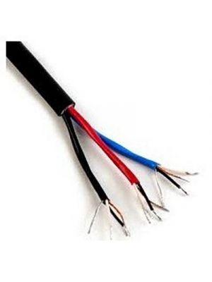 Canare L-4E3-12P 12-Channel Star Quad Microphone Cable - 25 AWG (Black)