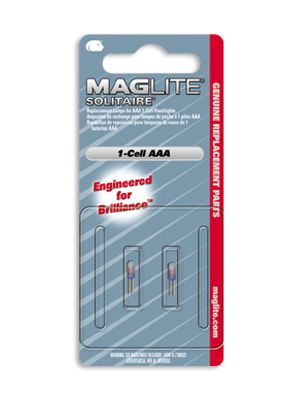 Maglite LK3A001 Solitaire Replacement Lamp (2 Pack)