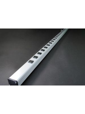 Shape/Wiremold UL2065BC 24 Outlet 6 FT Power Strip (6 FT Cord)