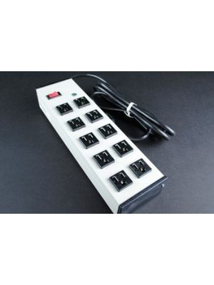 Shape/Wiremold UL210BD 10 Outlet Power Strip (15 FT Cord)