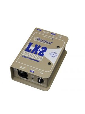 Radial Engineering LX-2 Passive Line Splitter & Attenuator