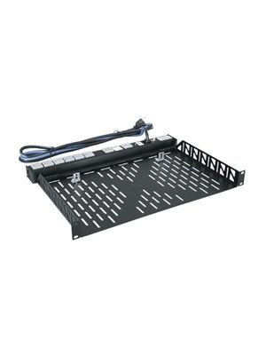 Middle Atlantic U1V 1RU Utility Rackshelf