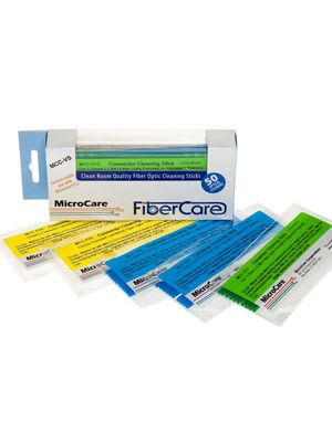 MicroCare VS Sticklers™ CleanStixx™ Fiber Optic Connector Cleaning Swabs - 50 Pack